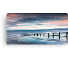 Soft Light Sunset Canvas Print