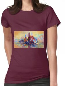 SANDSTORM IN SYDNEY HARBOUR 1.0 Womens Fitted T-Shirt