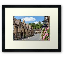 Tea Rooms, Castle Coombe, Wiltshire Framed Print