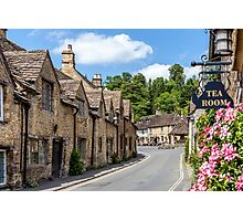 Tea Rooms, Castle Coombe, Wiltshire Photographic Print