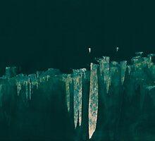 WDVT - 0005 - Floating City Skyline by wetdryvac