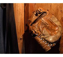 The Old Glove Photographic Print