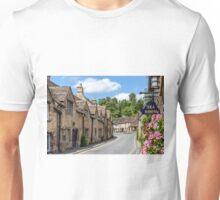 Tea Rooms, Castle Coombe, Wiltshire Unisex T-Shirt