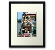 Hindu Deities, India Framed Print