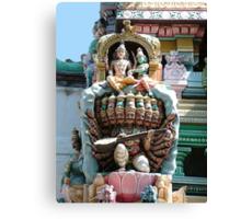 Hindu Deities, India Canvas Print