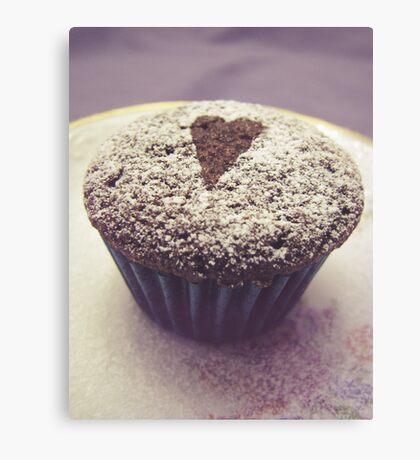 I heart cupcakes Canvas Print