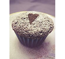 I heart cupcakes Photographic Print