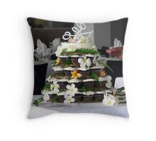 Fijian Wedding Cake Throw Pillow