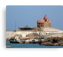 Swami Vivekananda Memorial, India Canvas Print