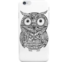Ornate Baby Owl iPhone Case/Skin
