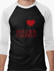My Heart Belongs To Holden Caulfield Men's Baseball ¾ T-Shirt