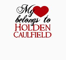 My Heart Belongs To Holden Caulfield Womens Fitted T-Shirt