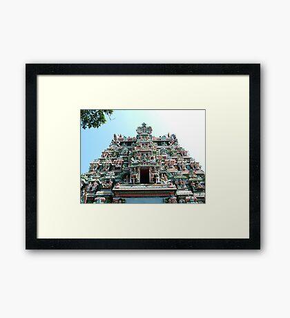 Sri Meenakshi Amman Temple, India Framed Print