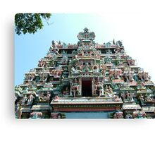 Sri Meenakshi Amman Temple, India Canvas Print