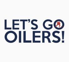 Let's Go Oilers! by Florian Rodarte