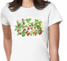 Ripe Strawberries from Provence Womens Fitted T-Shirt