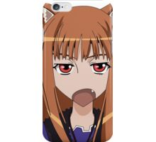 Holo Spice and Wolf iPhone Case/Skin