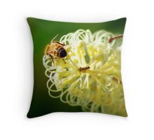 Being a busy Bee Throw Pillow