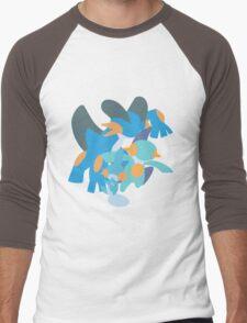 Mudkip Evolution Men's Baseball ¾ T-Shirt