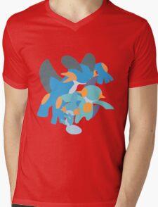Mudkip Evolution Mens V-Neck T-Shirt