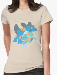 Mudkip Evolution Womens Fitted T-Shirt