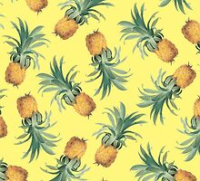 PINEAPPLES (YELLOW) by cybergold