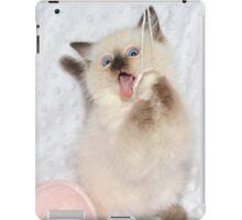 Goofy Kitty iPad Case/Skin