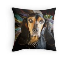 Being Alert Throw Pillow