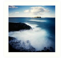 Fingal Head Pinhole ll Art Print
