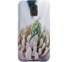 Blue V Magnolia macro Samsung Galaxy Case/Skin
