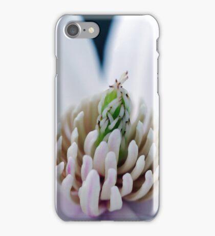 Blue V Magnolia macro iPhone Case/Skin