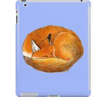 Foxy naps iPad Case/Skin