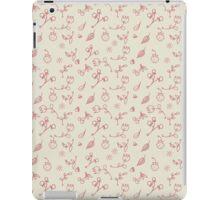 Mini romantic handpainted seamless pattern iPad Case/Skin