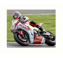 Stuart Easton - British Superbikes Art Print