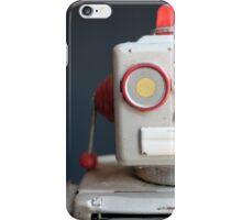 Vintage Mechanical Robot Toy iPhone Case/Skin