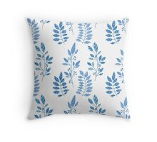 Foliage pattern Throw Pillow