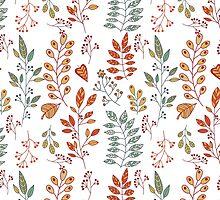 Foliage pattern by julkapulka