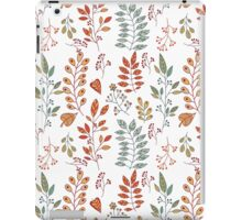 Foliage pattern iPad Case/Skin