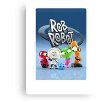 Rob the Robot! Canvas Print