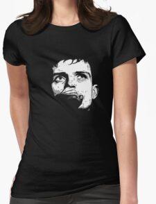i.c. water ( dance dance dance to thee radio - dark t-shirt REMIX) Womens Fitted T-Shirt