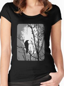 The Watcher  Women's Fitted Scoop T-Shirt
