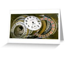 Get time Greeting Card