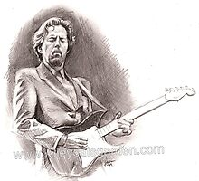 Eric 'Slowhand' Clapton by Alleycatsgarden