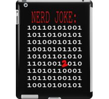 Binary Nerd Joke iPad Case/Skin