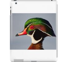 Colours of a Wood Duck iPad Case/Skin