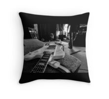 Let There Be Rock... Throw Pillow