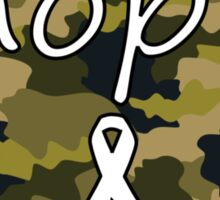 Hope Heart Camo 2 Sticker