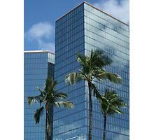 Hawaii: Downtown Honolulu CBD Photographic Print