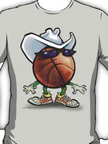 Basketball Cowboy T-Shirt