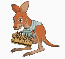 Spot five differences between these kangaroo joeys Kids Clothes